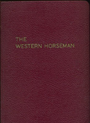 1954 Western Horseman - Entire Year In A Bound Volume